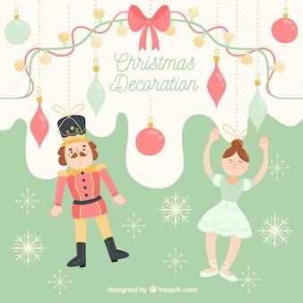 Ornements de Noël avec un style adorable