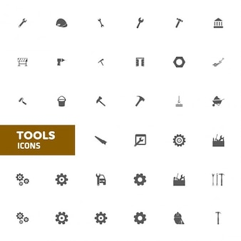Outil Flat Icon Set