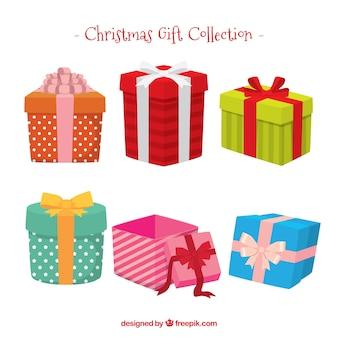 Pack de coffrets cadeaux avec archet