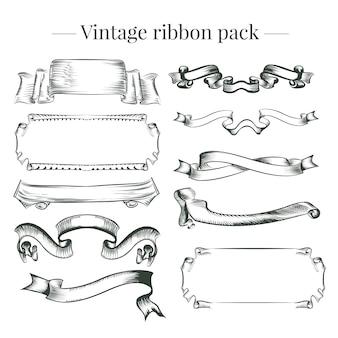 Pack de rubans Vintage