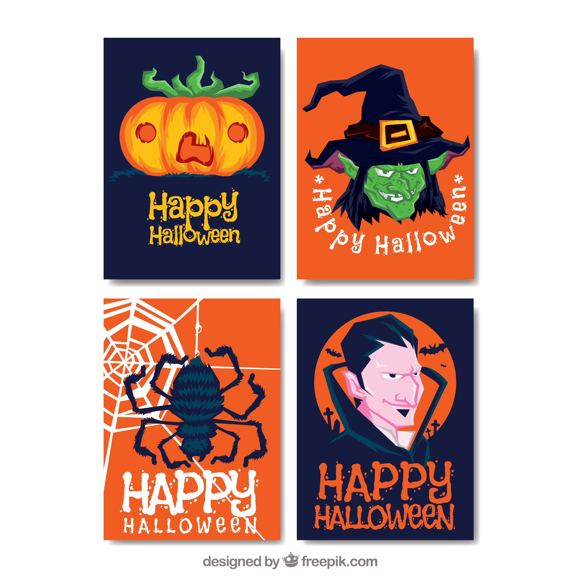 Pack original de cartes Halloween