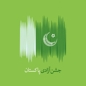 Pakistan Independence Day Flag