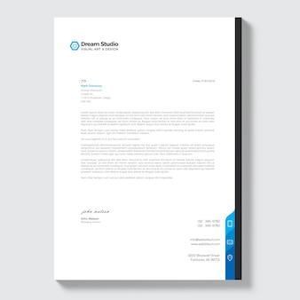 Papier à lettre moderne