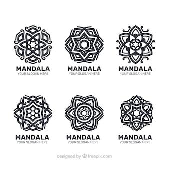 Paquet de logos mandalas