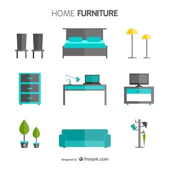 Paquet de meubles de maison