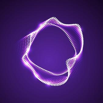 Particules déformées