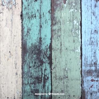 Peint planches texture bois