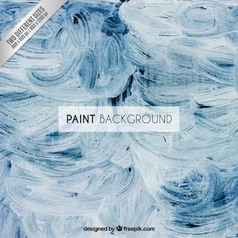 Peinture fond bleu