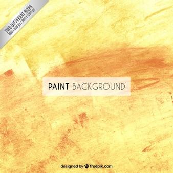 Peinture jaune fond
