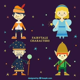 Personnages de contes de fées belles