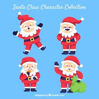 Personnages drôles du père Noël