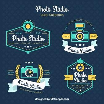 photo vintage badges studio