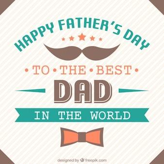 Phrase émotionnelle de la fête des pères