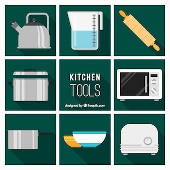 Plat de cuisine Outils Collection