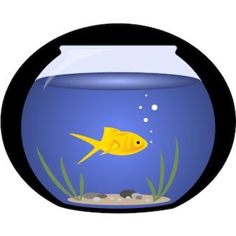 Bocal a poissons vecteurs et photos gratuites for Aquarium bocal poisson