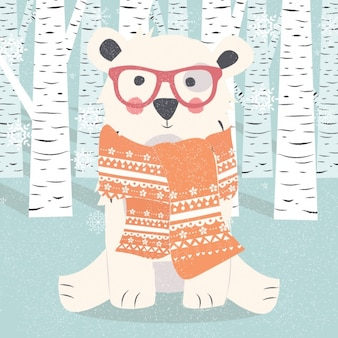 Polar Design ours de fond
