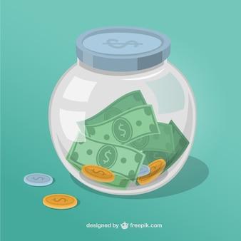 Pot de l'argent