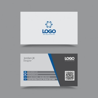Professional Clean Business Card