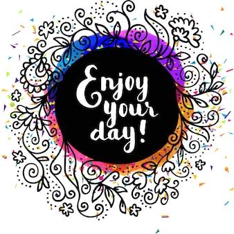 Profitez de votre journée de fond