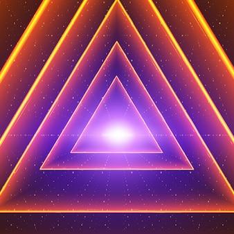 Programme virtuel fond coloré brillant
