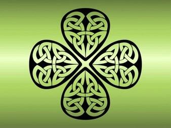 Quatre feuilles, couverture Shamrock tatouage