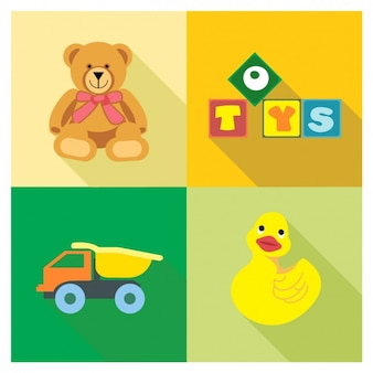 Quatre jouets