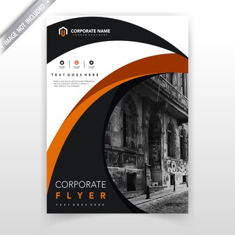 Rapport annuel couverture modèle d'illustration vectorielle