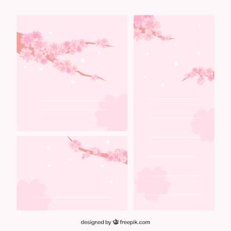 Remarques de branches avec des fleurs