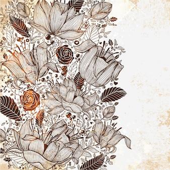 Répétition de papier peint tradition motif texture