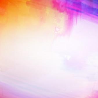 Résumé aquarelle colorée