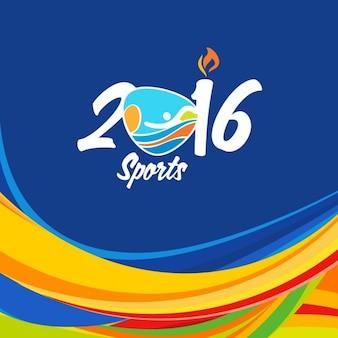 Résumé couleur RIO Brésil fond