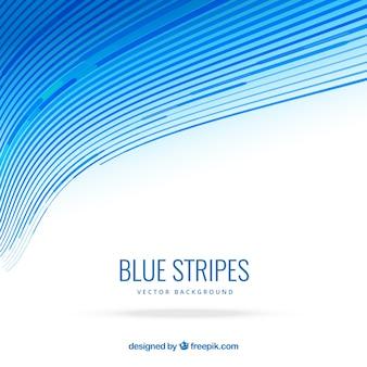 Résumé de fond avec des vagues bleues