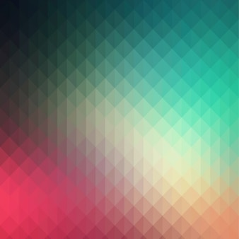 Résumé de fond polygonale