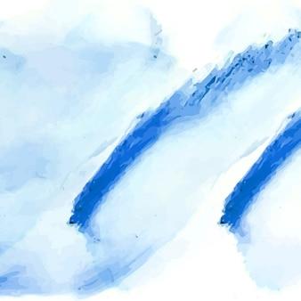 Résumé fond d'aquarelle bleu