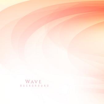 Résumé fond de vague élégant