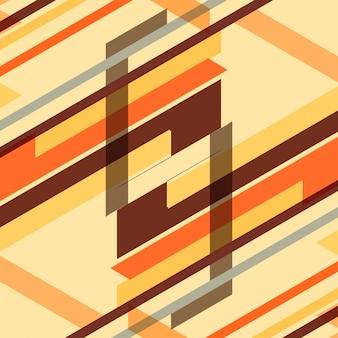 Résumé fond géométrique coloré