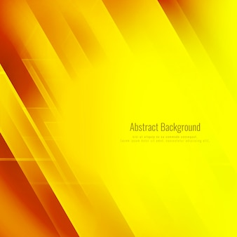 Résumé fond géométrique jaune clair