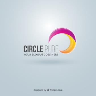 Résumé logo de cercle