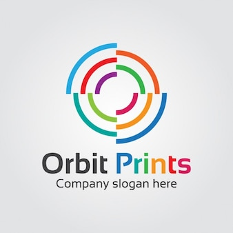 Résumé Logo Orbital Colorful
