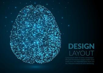 Résumé moléculaire du cerveau Modèle de conception