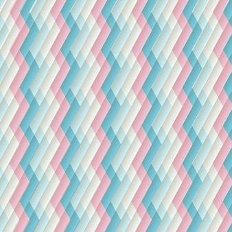 Retro background zigzag