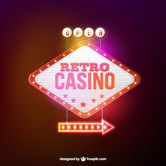 Rétro casino bannière