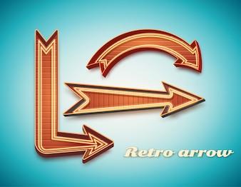 Rétro signe vintage
