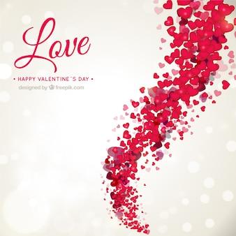 Romantique fond de Saint-Valentin