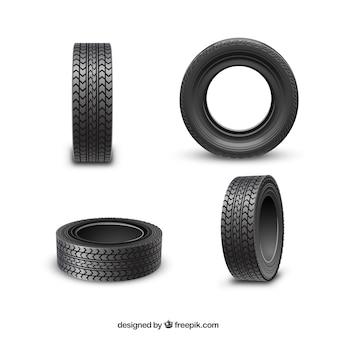 Roues de pneus