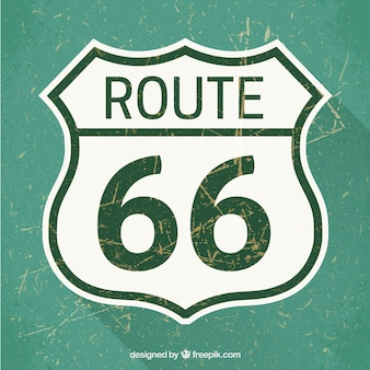 Route 66 signe de route