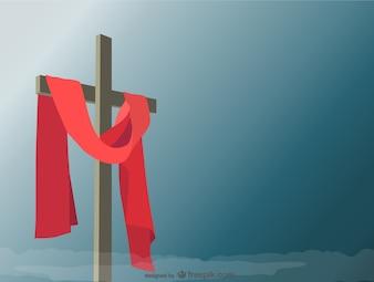 Sainte croix illustration vectorielle