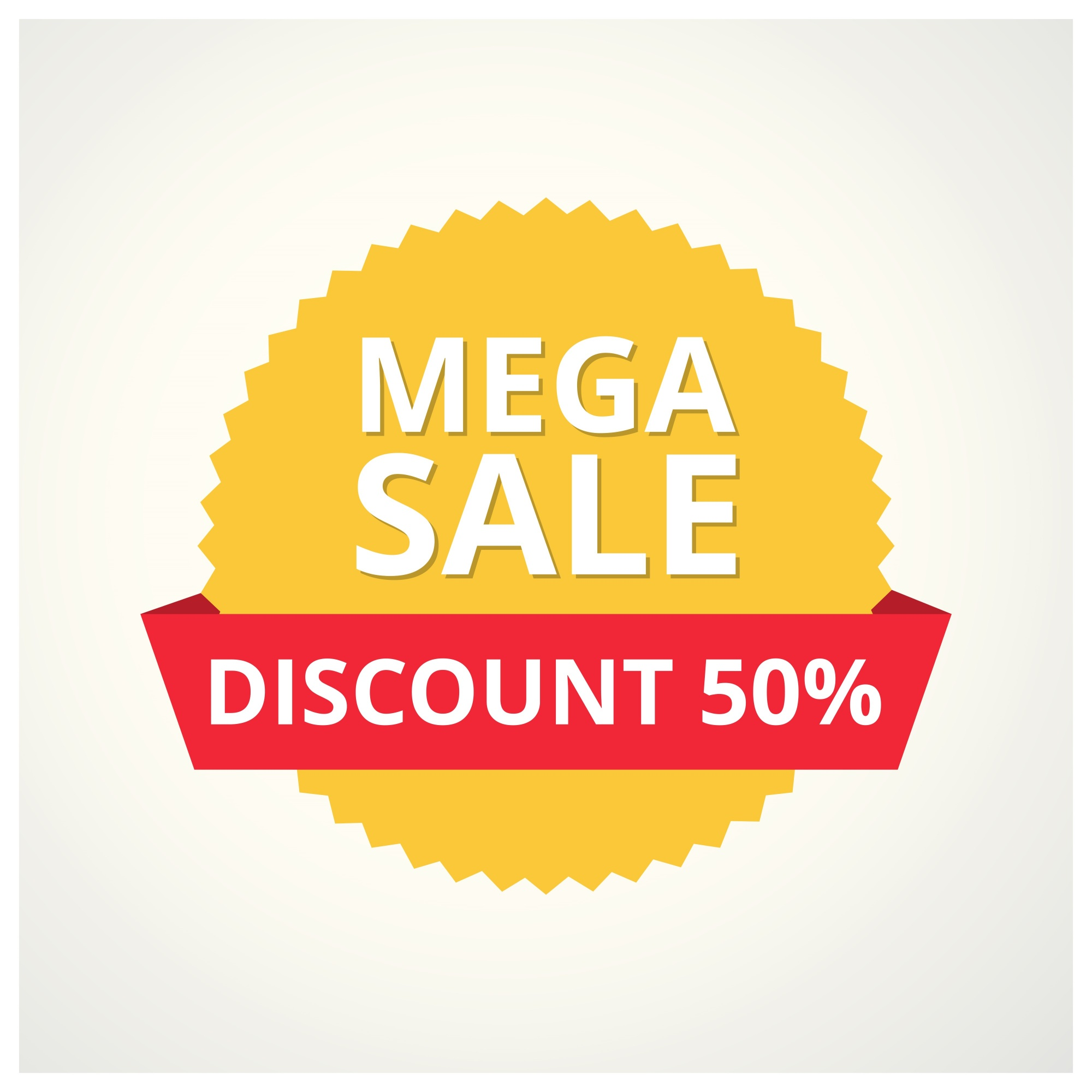 Sega Mega Sale banner Big super sale