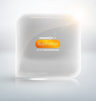 Shine fond concept de magie transparente