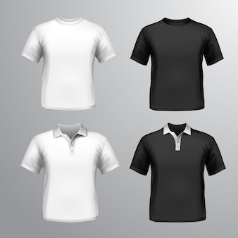 Shirt maquette collection